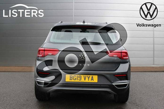 Image nine of this 2019 Volkswagen T-Roc Hatchback 1.5 TSI EVO SE 5dr DSG in Indium Grey Black Roof at Listers Volkswagen Nuneaton