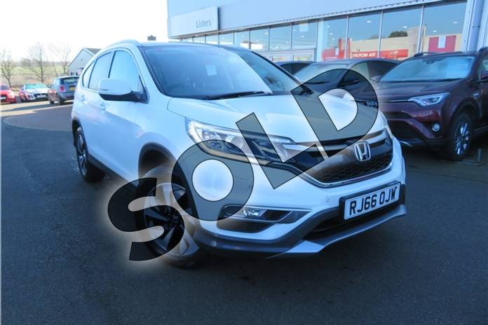 Picture of Honda CR-V 1.6 i-DTEC 160 EX 5dr Auto in Pearl - White orchid