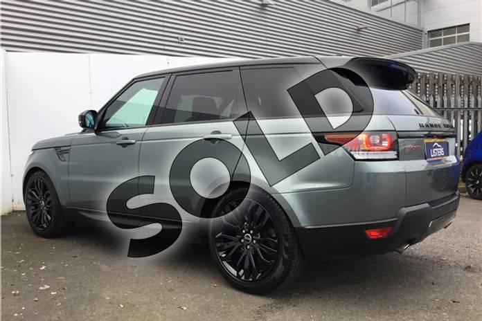 Image three of this 2015 Range Rover Sport Diesel Estate 3.0 SDV6 (306) HSE Dynamic 5dr Auto (7 seat) in Metallic - Scotia grey at Listers U Solihull