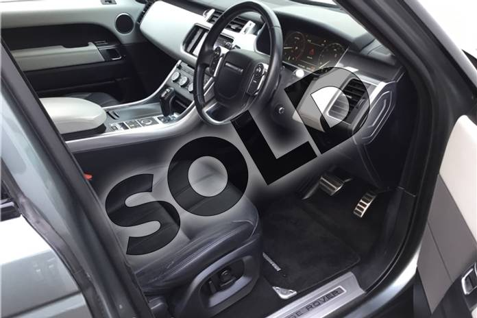 Image two of this 2015 Range Rover Sport Diesel Estate 3.0 SDV6 (306) HSE Dynamic 5dr Auto (7 seat) in Metallic - Scotia grey at Listers U Solihull
