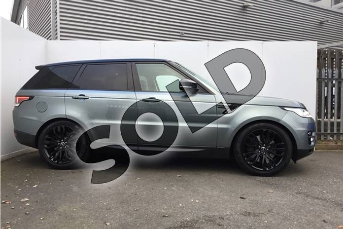 Image five of this 2015 Range Rover Sport Diesel Estate 3.0 SDV6 (306) HSE Dynamic 5dr Auto (7 seat) in Metallic - Scotia grey at Listers U Solihull