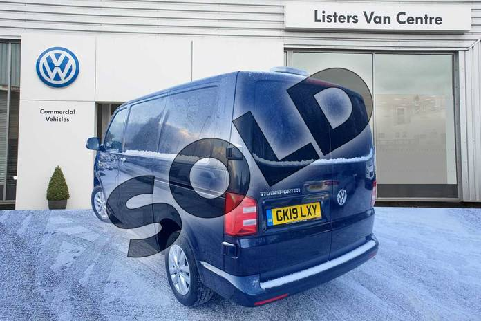 Image three of this 2019 Volkswagen Transporter T28 SWB Diesel 2.0 TDI BMT 150 Highline Van DSG in Blue at Listers Volkswagen Van Centre Coventry