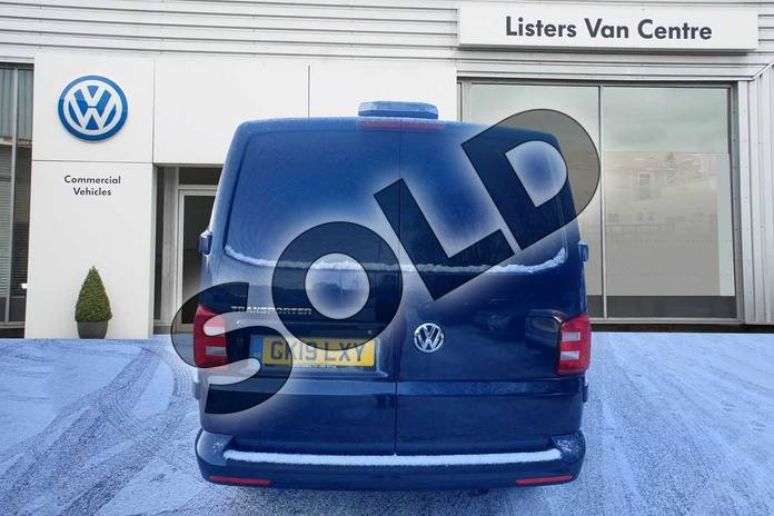 Image six of this 2019 Volkswagen Transporter T28 SWB Diesel 2.0 TDI BMT 150 Highline Van DSG in Blue at Listers Volkswagen Van Centre Coventry
