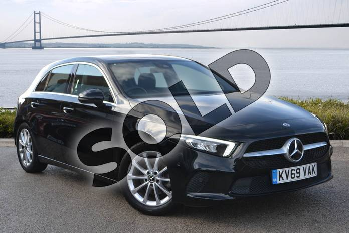 Picture of Mercedes-Benz A Class A180d Sport Executive 5dr Auto in Cosmos Black Metallic