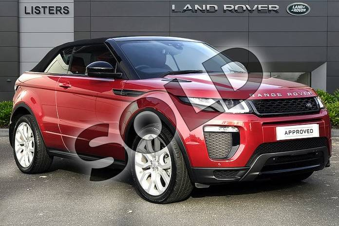 Picture of Range Rover Evoque 2.0 TD4 (180hp) HSE Dynamic in Firenze Red