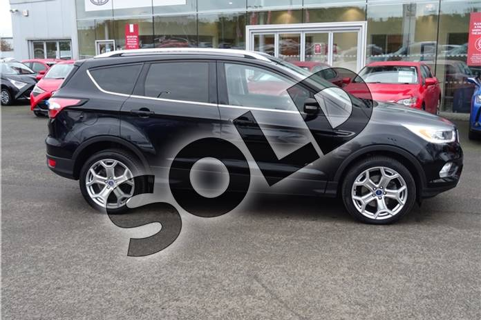 Image five of this 2018 Ford Kuga Diesel Estate 2.0 TDCi 180 Titanium X 5dr Auto in Metallic - Shadow black at Listers Toyota Grantham