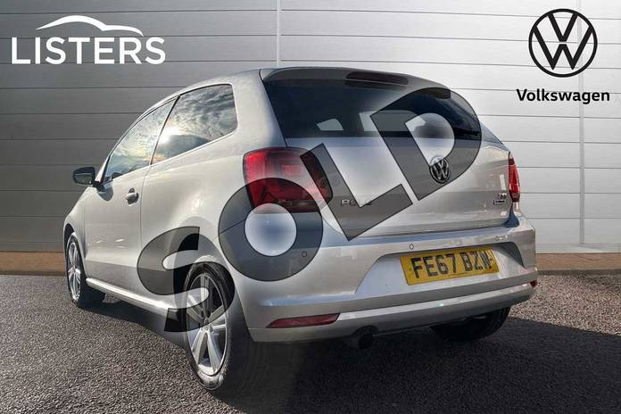 Image three of this 2017 Volkswagen Polo Hatchback 1.2 TSI Match Edition 3dr in Reflex silver at Listers Volkswagen Loughborough