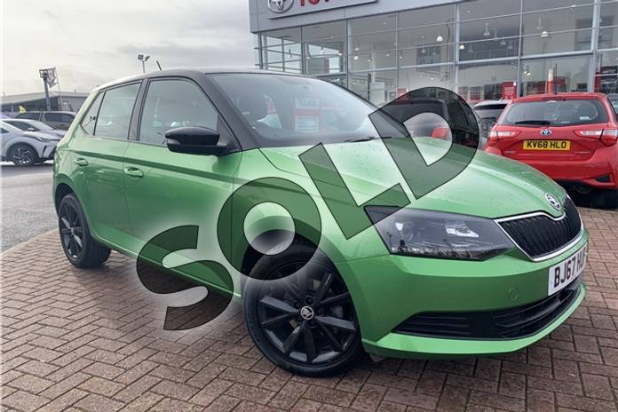 2017 Skoda Fabia Hatchback Special Editions 1.0 TSI Colour Edition 5dr in Metallic - Rallye green at Listers Toyota Nuneaton