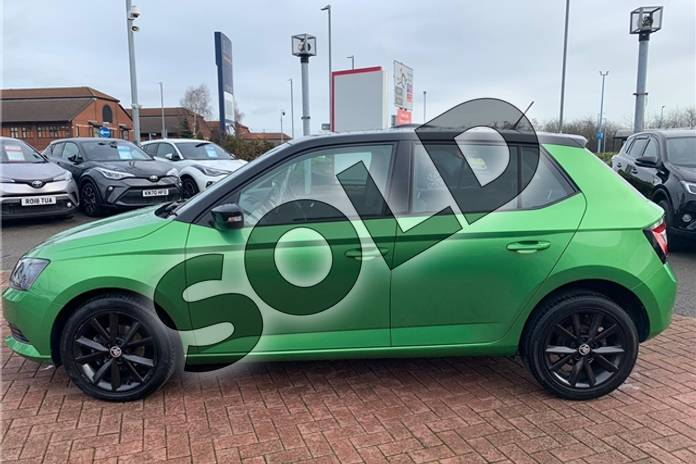 Image two of this 2017 Skoda Fabia Hatchback Special Editions 1.0 TSI Colour Edition 5dr in Metallic - Rallye green at Listers Toyota Nuneaton