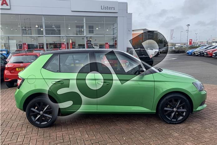Image three of this 2017 Skoda Fabia Hatchback Special Editions 1.0 TSI Colour Edition 5dr in Metallic - Rallye green at Listers Toyota Nuneaton