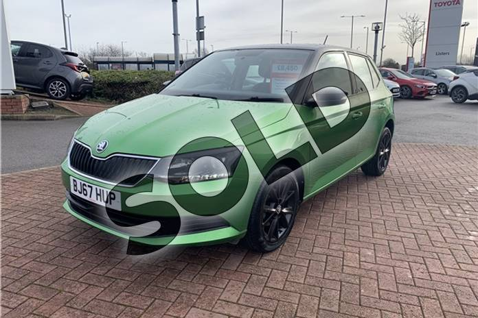 Image five of this 2017 Skoda Fabia Hatchback Special Editions 1.0 TSI Colour Edition 5dr in Metallic - Rallye green at Listers Toyota Nuneaton
