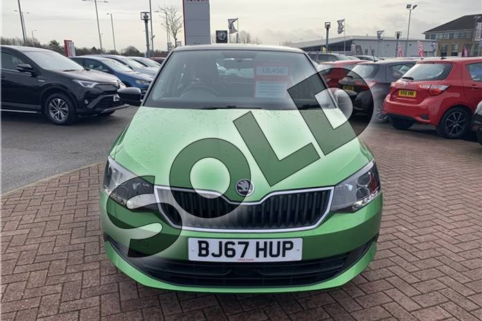 Image six of this 2017 Skoda Fabia Hatchback Special Editions 1.0 TSI Colour Edition 5dr in Metallic - Rallye green at Listers Toyota Nuneaton