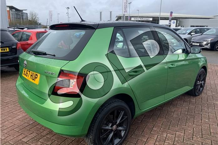 Image four of this 2017 Skoda Fabia Hatchback Special Editions 1.0 TSI Colour Edition 5dr in Metallic - Rallye green at Listers Toyota Nuneaton