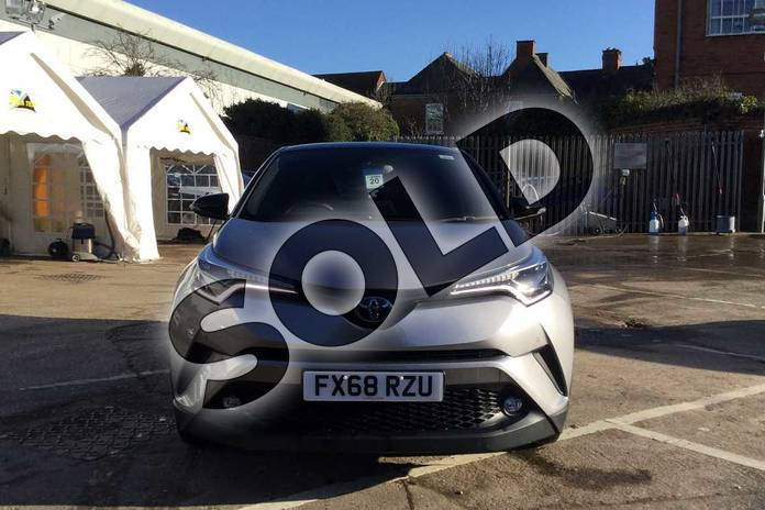 Image fifteen of this 2018 Toyota C-HR Hatchback 1.8 Hybrid Dynamic 5dr CVT in Silver at Listers Toyota Nuneaton