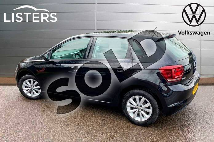 Image three of this 2018 Volkswagen Polo Hatchback 1.0 TSI 95 SE 5dr in Deep Black Pearl Effect at Listers Volkswagen Coventry