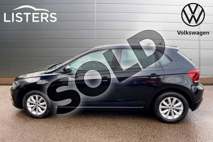 Image four of this 2018 Volkswagen Polo Hatchback 1.0 TSI 95 SE 5dr in Deep Black Pearl Effect at Listers Volkswagen Coventry