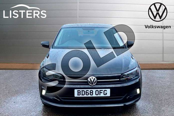 Image seven of this 2018 Volkswagen Polo Hatchback 1.0 TSI 95 SE 5dr in Deep Black Pearl Effect at Listers Volkswagen Coventry