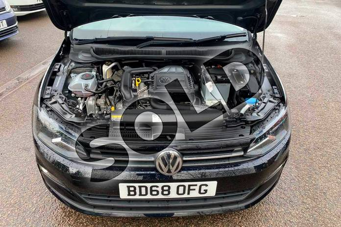 Image nine of this 2018 Volkswagen Polo Hatchback 1.0 TSI 95 SE 5dr in Deep Black Pearl Effect at Listers Volkswagen Coventry