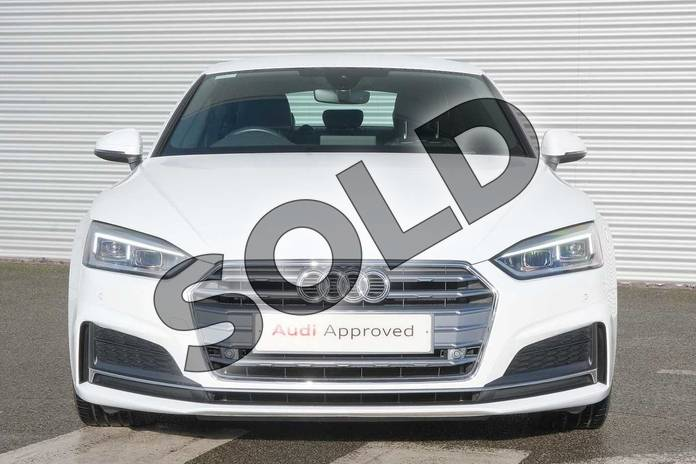 Image eight of this 2018 Audi A5 Diesel Sportback 40 TDI S Line 5dr S Tronic in Ibis White at Coventry Audi