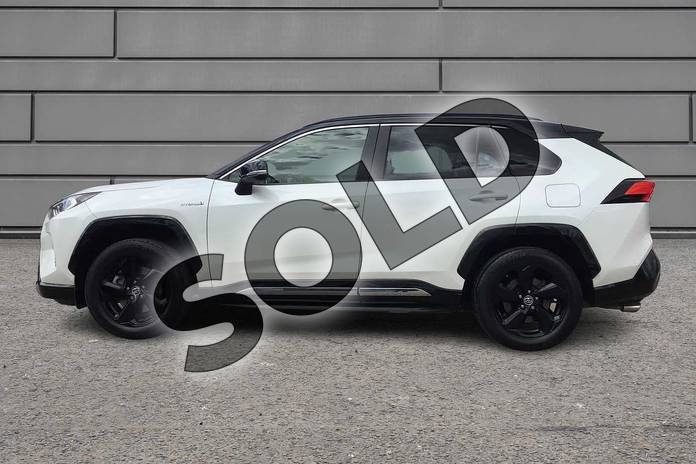 Image seventeen of this 2019 Toyota RAV4 Estate 2.5 VVT-i Hybrid Dynamic 5dr CVT 2WD in Pearl White at Listers Toyota Boston