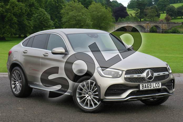 Picture of Mercedes-Benz GLC Coupe GLC 300d 4Matic AMG Line Premium 5dr 9G-Tronic in Mojave Silver Metallic