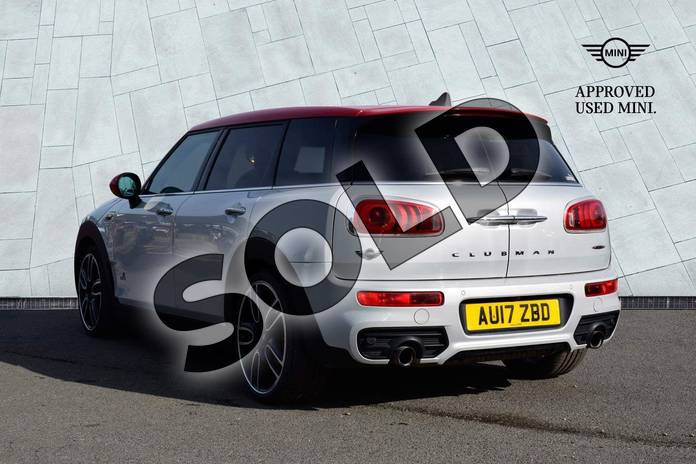 Image two of this 2017 MINI Clubman Estate 2.0 John Cooper Works ALL4 6dr Auto in White Silver at Listers Boston (MINI)