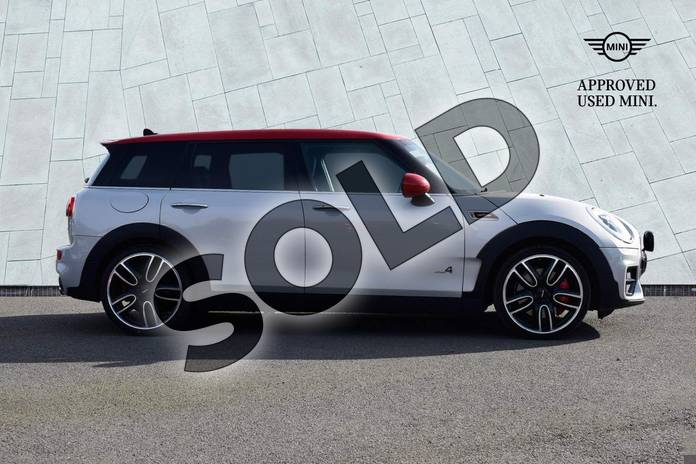 Image three of this 2017 MINI Clubman Estate 2.0 John Cooper Works ALL4 6dr Auto in White Silver at Listers Boston (MINI)