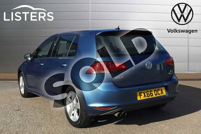 Image three of this 2016 Volkswagen Golf Hatchback 1.4 TSI 125 Match Edition 5dr in Pacific Blue at Listers Volkswagen Loughborough