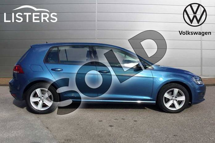Image four of this 2016 Volkswagen Golf Hatchback 1.4 TSI 125 Match Edition 5dr in Pacific Blue at Listers Volkswagen Loughborough