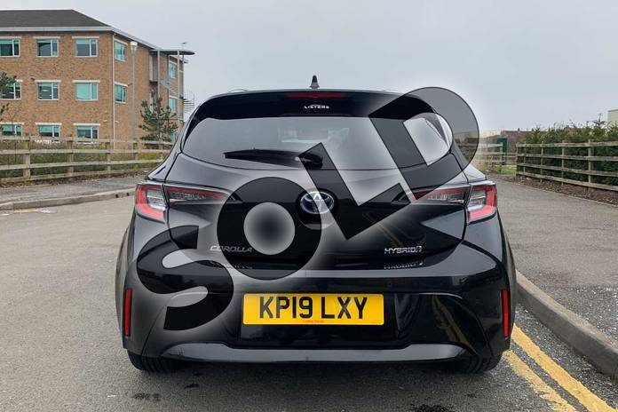 Image nineteen of this 2019 Toyota Corolla Hatchback 1.8 VVT-i Hybrid Excel 5dr CVT in Black at Listers Toyota Nuneaton