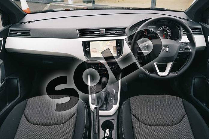 Image two of this 2020 SEAT Arona Hatchback 1.0 TSI 115 Xcellence (EZ) 5dr DSG in Black at Listers SEAT Coventry