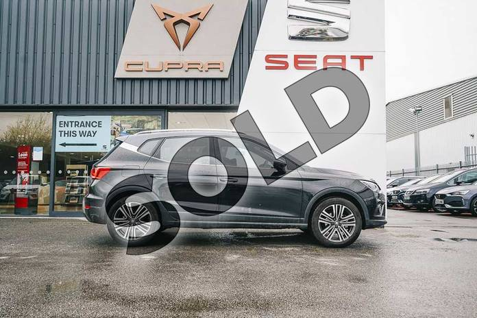 Image four of this 2020 SEAT Arona Hatchback 1.0 TSI 115 Xcellence (EZ) 5dr DSG in Black at Listers SEAT Coventry