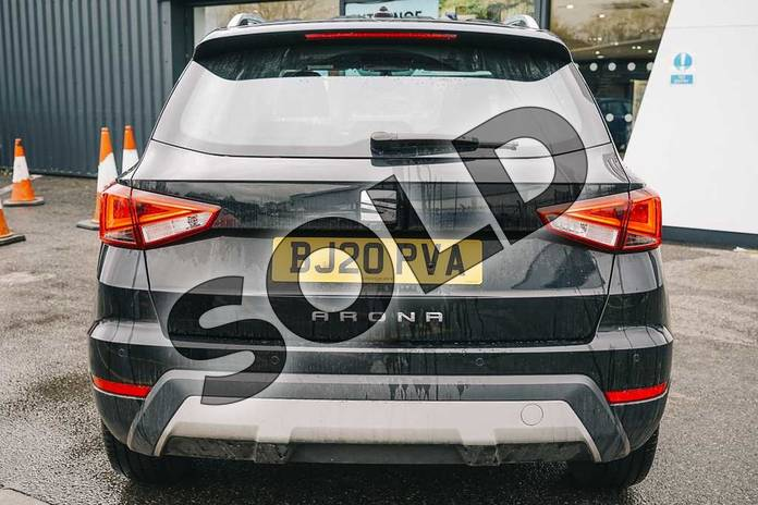 Image ten of this 2020 SEAT Arona Hatchback 1.0 TSI 115 Xcellence (EZ) 5dr DSG in Black at Listers SEAT Coventry