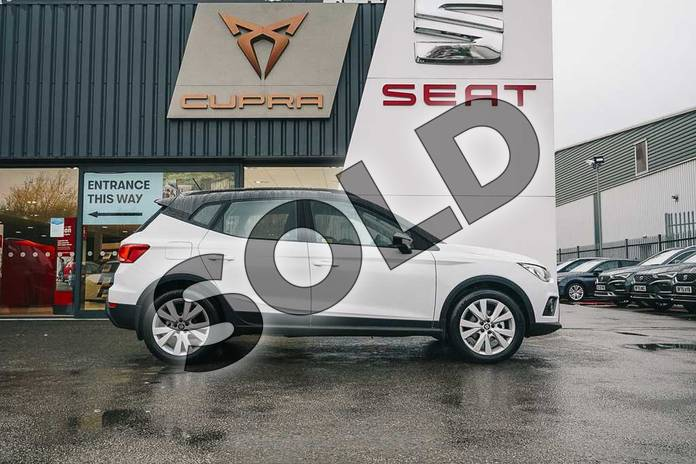 Image four of this 2021 SEAT Arona Hatchback 1.0 TSI 110 SE Technology (EZ) 5dr DSG in White at Listers SEAT Coventry