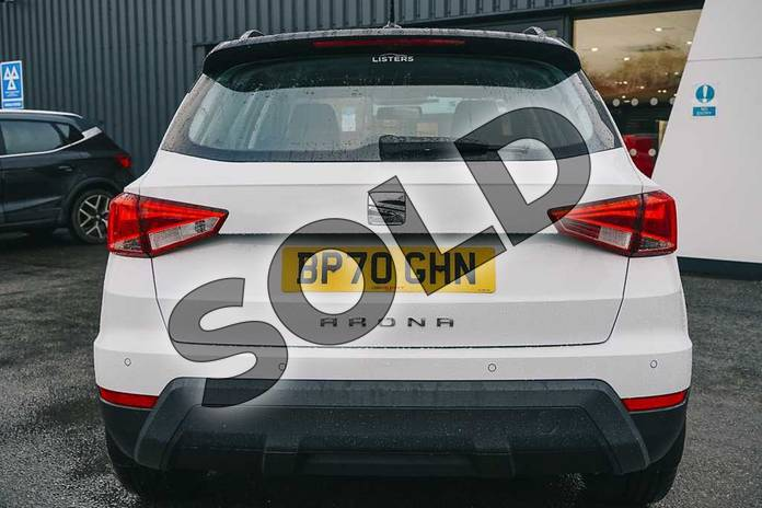 Image ten of this 2021 SEAT Arona Hatchback 1.0 TSI 110 SE Technology (EZ) 5dr DSG in White at Listers SEAT Coventry