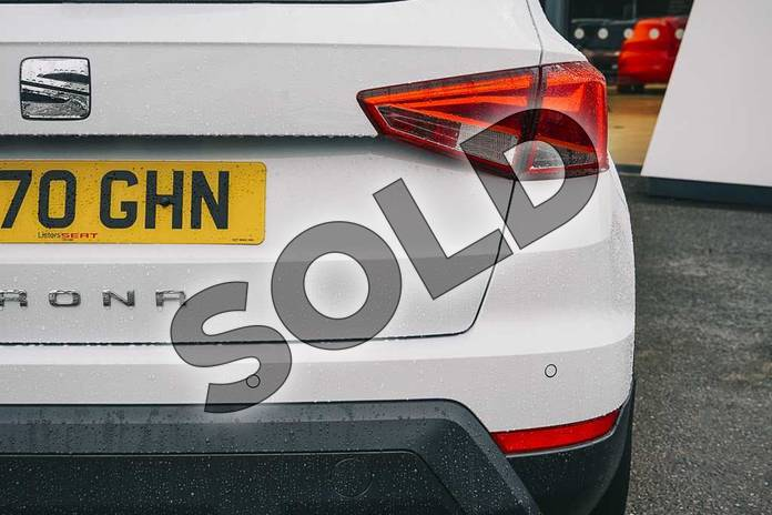 Image eleven of this 2021 SEAT Arona Hatchback 1.0 TSI 110 SE Technology (EZ) 5dr DSG in White at Listers SEAT Coventry