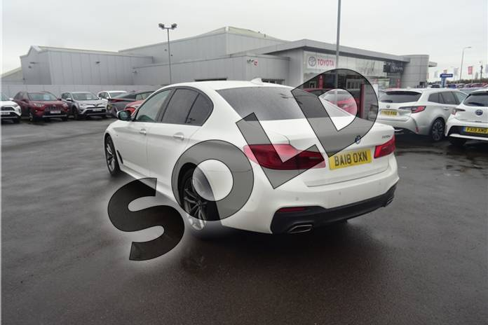 Image six of this 2018 BMW 5 Series Diesel Saloon 520d M Sport 4dr Auto in Solid - Alpine white at Listers Toyota Lincoln