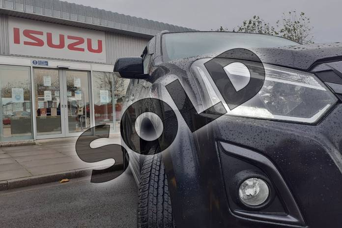 Image six of this 2019 Isuzu D-MAX Diesel 1.9 Blade Double Cab 4x4 in Black at Listers Isuzu Worcester