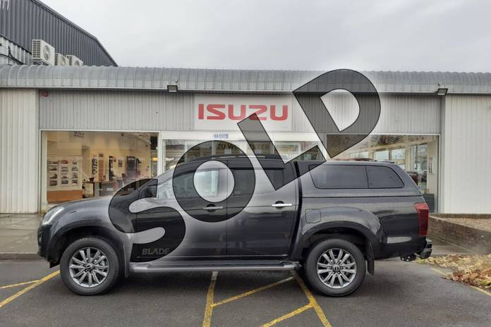 Image seven of this 2019 Isuzu D-MAX Diesel 1.9 Blade Double Cab 4x4 in Black at Listers Isuzu Worcester