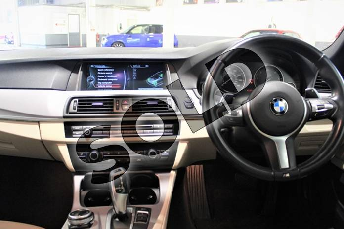 Image seven of this 2014 BMW 5 Series Diesel Touring 520d M Sport 5dr Step Auto in Metallic - Carbon black at Listers U Stratford-upon-Avon