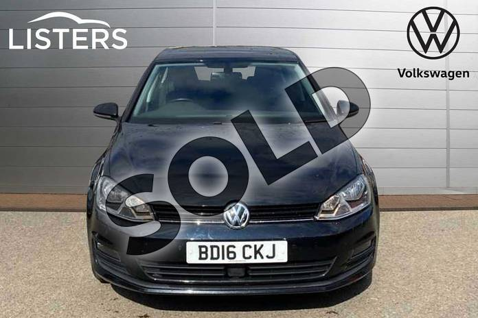 Image seven of this 2016 Volkswagen Golf Diesel Hatchback 2.0 TDI Match Edition 5dr in Deep Black Pearl Effect at Listers Volkswagen Coventry