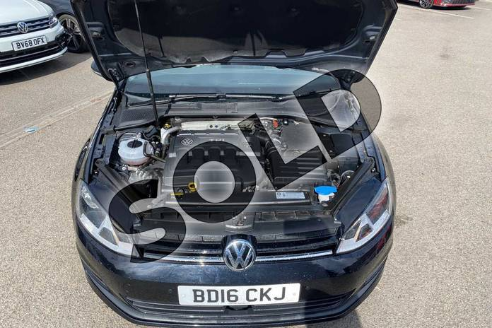 Image nine of this 2016 Volkswagen Golf Diesel Hatchback 2.0 TDI Match Edition 5dr in Deep Black Pearl Effect at Listers Volkswagen Coventry
