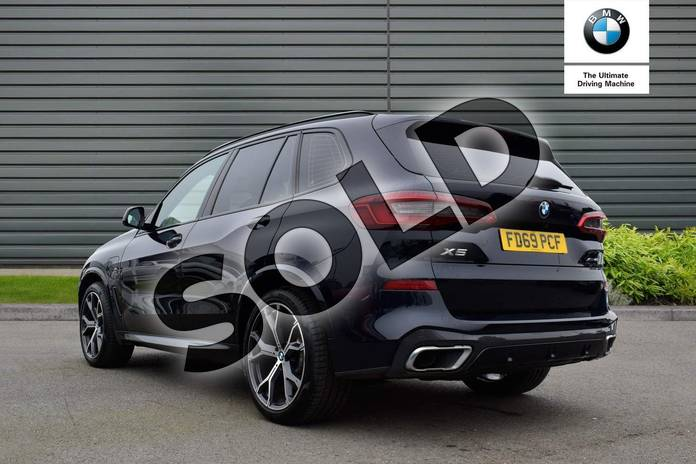 Image two of this 2020 BMW X5 Estate xDrive45e M Sport 5dr Auto in Carbon Black at Listers Boston (BMW)