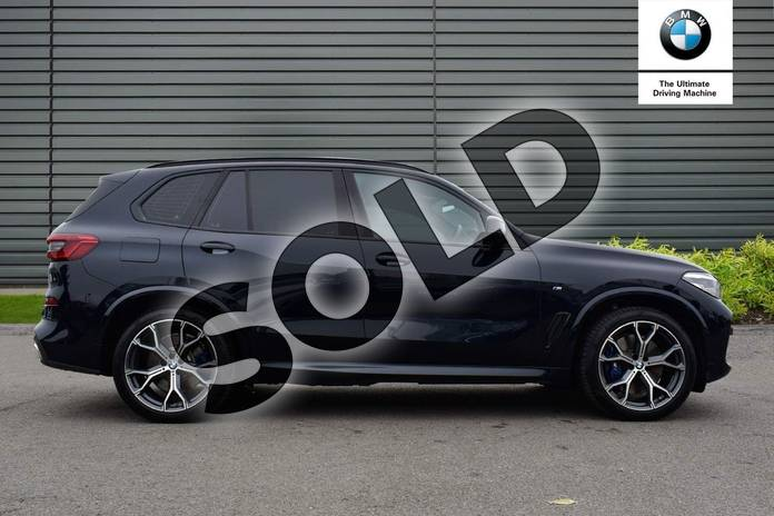 Image three of this 2020 BMW X5 Estate xDrive45e M Sport 5dr Auto in Carbon Black at Listers Boston (BMW)