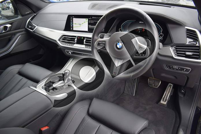 Image six of this 2020 BMW X5 Estate xDrive45e M Sport 5dr Auto in Carbon Black at Listers Boston (BMW)