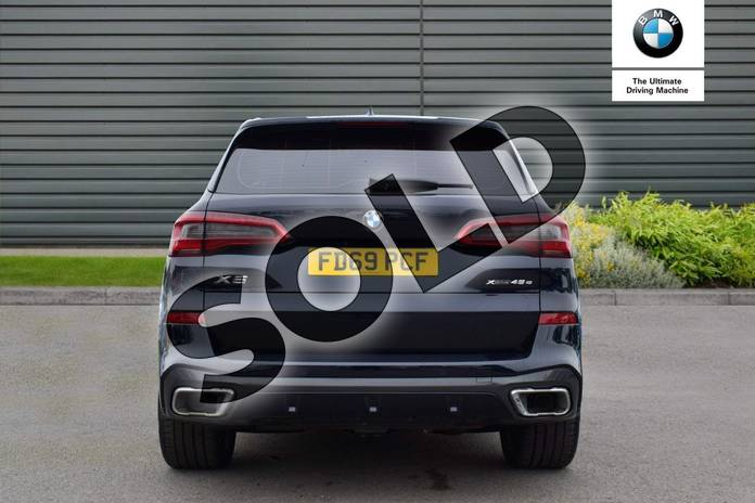 Image fifteen of this 2020 BMW X5 Estate xDrive45e M Sport 5dr Auto in Carbon Black at Listers Boston (BMW)