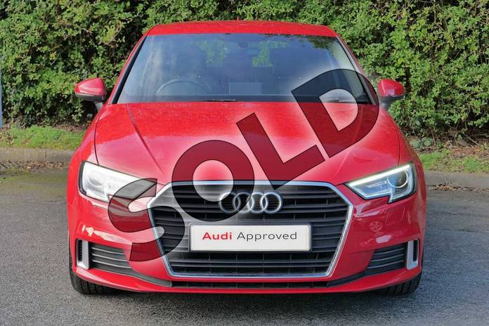 Image seven of this 2017 Audi A3 Hatchback 1.4 TFSI Sport 3dr in Tango Red Metallic at Worcester Audi