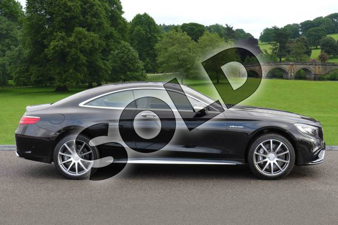 Image four of this 2016 Mercedes-Benz S Class AMG Coupe S63 2dr Auto in Obsidian Black metallic at Mercedes-Benz of Boston