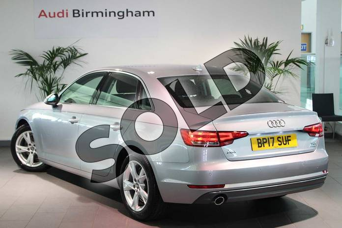 Image three of this 2017 Audi A4 Diesel Saloon 2.0 TDI Ultra Sport 4dr S Tronic in Floret Silver Metallic at Birmingham Audi