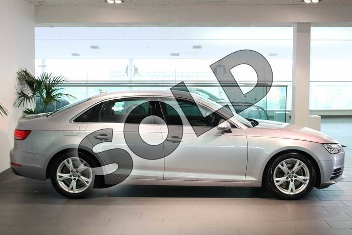Image four of this 2017 Audi A4 Diesel Saloon 2.0 TDI Ultra Sport 4dr S Tronic in Floret Silver Metallic at Birmingham Audi